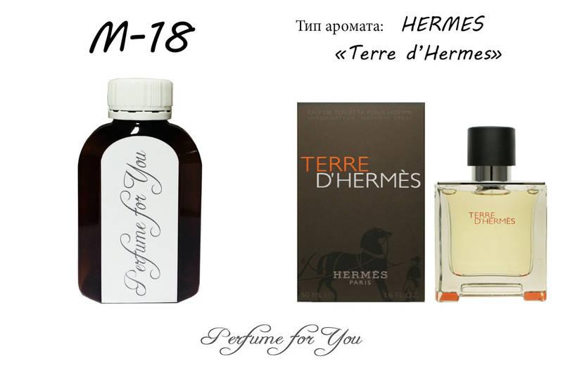 Мужские наливные духи Terre d'Hermes Hermes