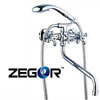 Смеситель для ванны ZEGOR DTZ7-B827 (Зегор)