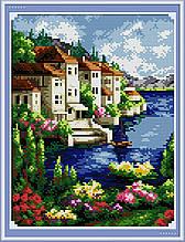 Набір Алмазна вишивка Морський пейзаж F0198