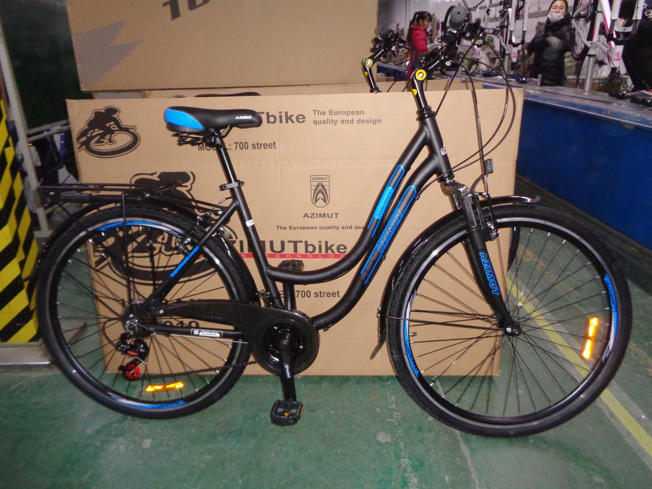 Городской велосипед Azimut Street 28