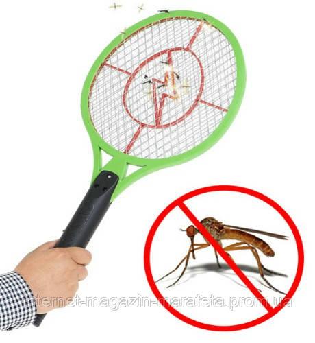 Электрическая мухобойка Jinxiang JX-006 Very Good от мух, ос, комаров и других насекомых оптом