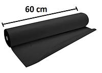 Черные одноразовые простыни в рулоне,  0.6Х100 м, 30 г/м2 - Черные
