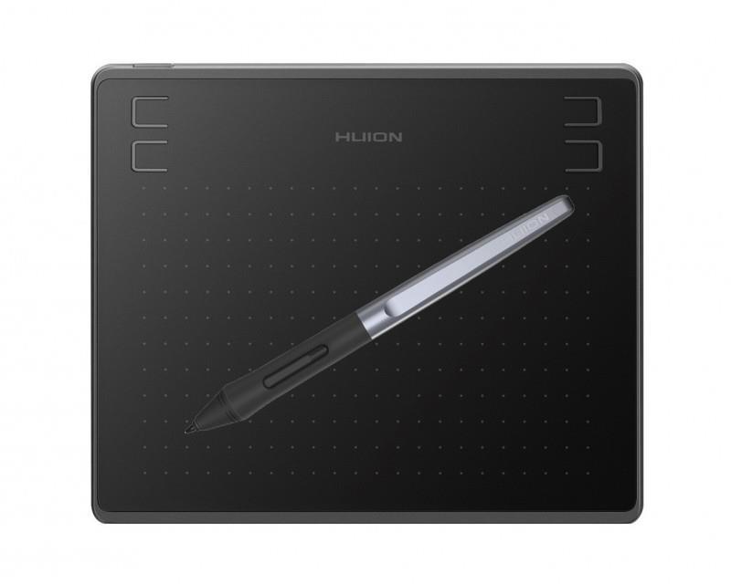 Графический планшет Huion HS64 + перчатка - Bigl ua