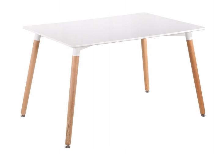 Стол кухонный 120*80 см DT-002 белый (8055)