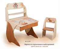 Парта Вальтер Умник+надстройка+стульчик Фотопечать