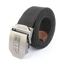 """Ремень брючный тактический 5.11 (1.5"""" Cobra BDU Belt) Черный"""