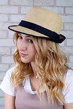"""Женская шляпка """"Берта"""", фото 2"""