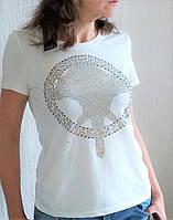 Стильная летняя футболка. Не жаркая, вискоза. , фото 1
