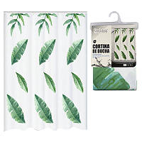 Занавеска в ванную Bathlux Green Leaves 60527 - 132638