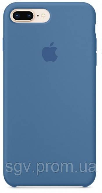 Силиконовый чехол для iPhone 7/8 plus, цвет «деним»