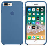 Силиконовый чехол для iPhone 7/8 plus, цвет «деним», фото 2