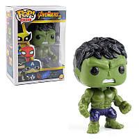 Игрушка супер герой Pop Heroes Hulk Avengers. светящиеся глаза - 133077