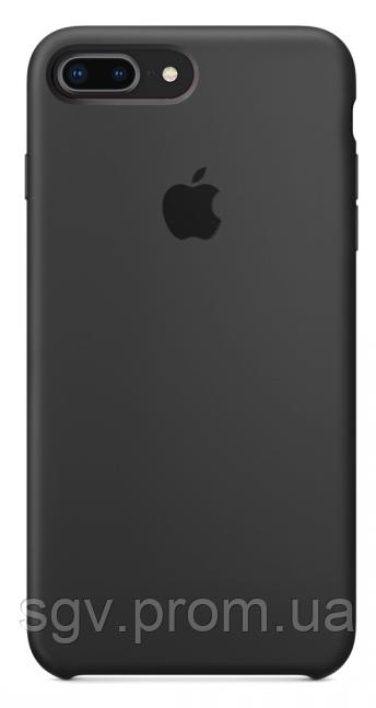 Силиконовый чехол для iPhone 7/8 plus, цвет «темно серый»
