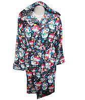 Халат женский короткий с капюшоном,интернет магазин,женская одежда от производителя,полтавский трикотаж,велсоф