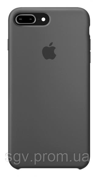 Силиконовый чехол для iPhone 7/8 plus, цвет «серый»
