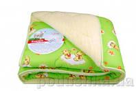 Детское одеяло стёганое меховое Home line с синтепоном 100х140 см