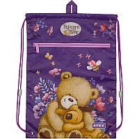 Сумка для обуви с карманом Kite Education Popcorn the Bear PO19-601M