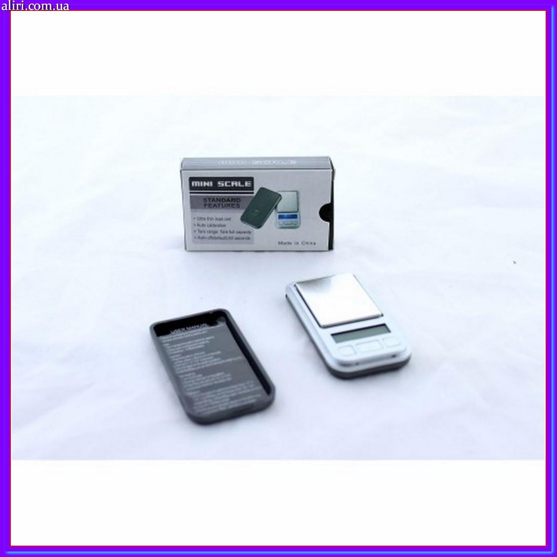 Высокоточные ювелирные карманные мини весы 0,01 - 200 гр