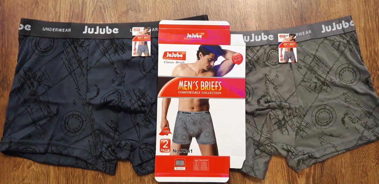 """Труси чоловічі,боксери""""Jujube"""" (XL-4XL),art: 241"""