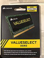 Память Corsair 4Gb So-DIMM PC3-10600S DDR3-1333 1.5v (CMS08GX3M2A1333C9)