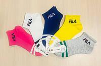 Носки детские летние с сеткой хлопок FILA Турция размер 2-4 года