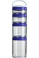 Контейнер спортивный BlenderBottle GoStak Starter 4 Pak Purple, Original - 145325