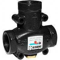 """ESBE VTC511 Rp 1 1/4"""" 70°C термостатический смесительный клапан , фото 1"""