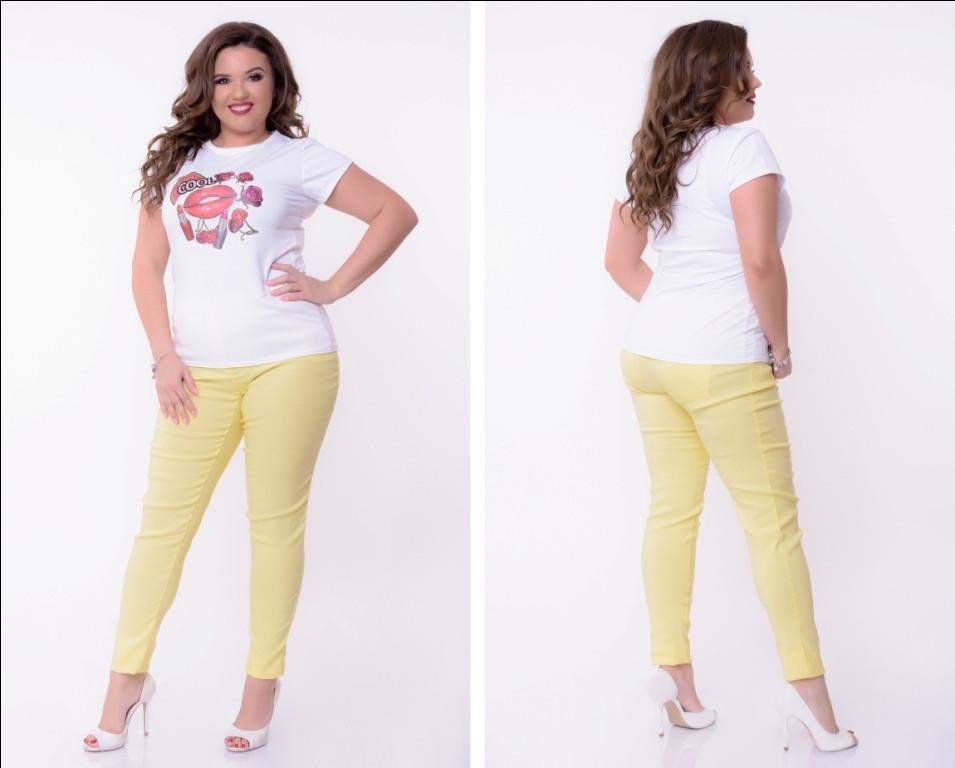 Женские коттоновые штаны 50-52, 54-56, 58-60