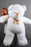 Плюшевый мишка Веня 2 метра белый TeddyBoom
