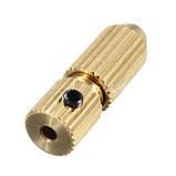 Цанговый патрон вал 3.2мм сверло 0,0 - 0,7 цанга электро дрель мини дрель Dremel, фото 4