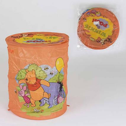 Корзина для игрушек А 01065-1 (60) в кульке, цвет оранжевый