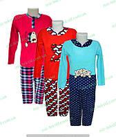 Пижама женская флис с вышивкой