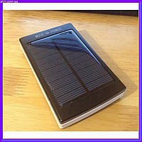 Мощный Power Bank 30000 mAh на солнечных батареях + Solar + Led панели