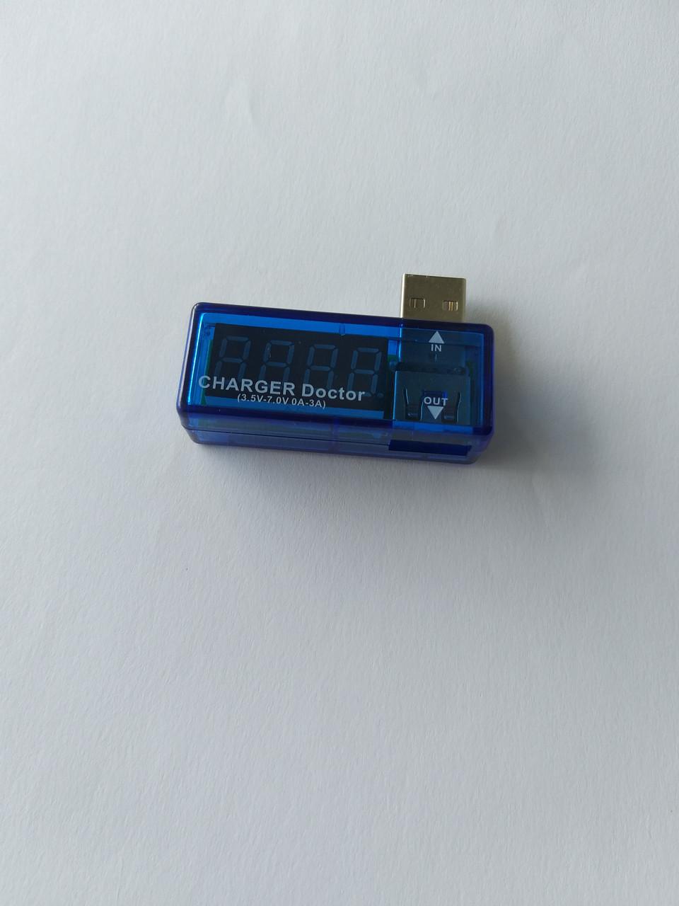 USB тестер измеритель тока напряжения (3-7V)