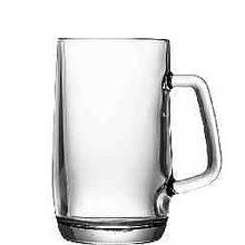 Кружка пивная стеклянная 500 мл UniGlass Prince Beer