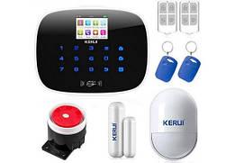 GSM сигнализация Kerui G19 KR-G19 Black комплект,для дома, офиса