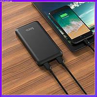 Портативная батарея Power Bank Hoco J26 Simple Energy 10000 mAh Original черный