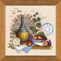 Набор для вышивки крестом Риолис 1303 Натюрморт с сыром