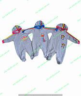 Человечки для новорожденных,Комбинезон для новорожденных с капюшоном,одежда для новорожденных,интернет магазин