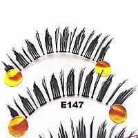 Ресницы-лучики по 10 пар (24 вида) 10, Ровное, Широкие, ф, К краю