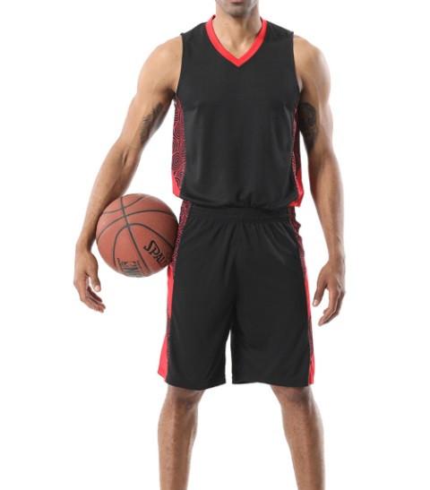 Баскетбольная форма ElitSport Fortuna (черная)