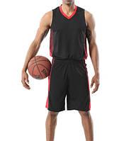 Баскетбольна форма ElitSport Fortuna (чорна)