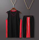 Баскетбольная форма ElitSport Fortuna (черная), фото 3