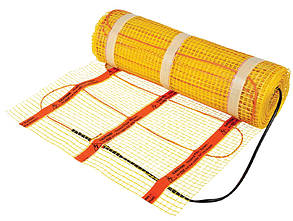 Heating m. 150W/m² 1,4m²