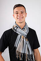 Мужские шарфы Famo Шарф Алекс капучиновый 169х30 см - 136124