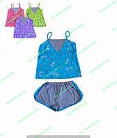 Пижама женская летняя,комсомольский женский трикотаж,женская одежда от производителя,стрейч кулир