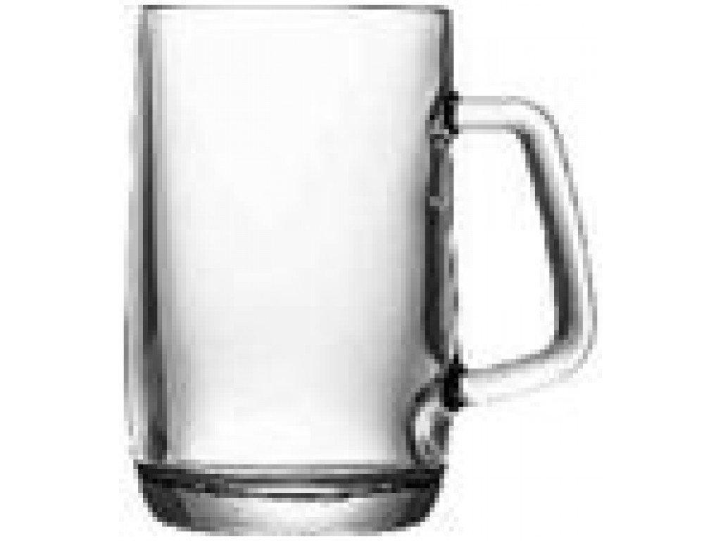 Кружка пивная стеклянная 400 мл UniGlass Prince Beer