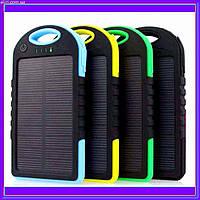 Power Bank Solar 30000 mAh + Фонарь павер банк солнечный аккумулятор