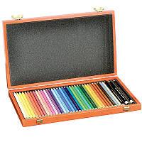 Карандаши цветные художеств. Koh-i-Noor POLYCOLOR, дер. коробка, 36 шт. (3895)