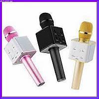 Беспроводной микрофон караоке блютуз Q7 USB